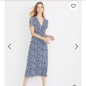 Madewell Midi Dress in French Floral 0